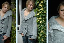 Sweaters / Love a good sweater! Knitted or crocheted & always the best when it's crafted just for you!