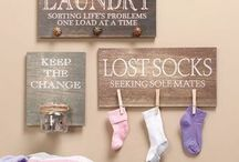 Laundry Room Essentials / Laundry Room Decor and Storage Inspiration for Any Space