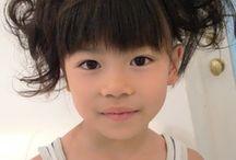 子ども髪型