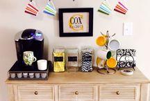 Coffee Bar / by Crystal Hickey