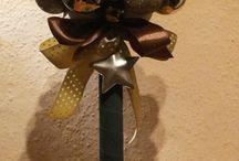 Christmas decorations / Dekoracje Boże Narodzenie / Table includes ownership Decoration Star made personally by me. I recommend :)  Tablica zawiera dekoracje gwiazdkowe wykonane własnoręcznie przez mnie. Polecam :)