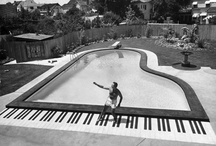 Swimming pools / A favourite baby grand
