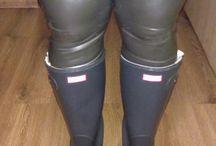 catsuit rain boots
