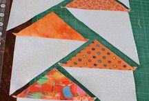 Háromszög varrás