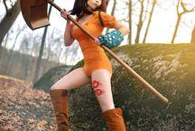 Anime cosplays