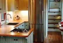 cocinas con mesada de madera