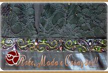Criando no Atelier / Customizações, artesanato, corte e costura, bordados, detalhes e novas criações.