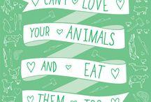 Because I'm veggie / idee vegane