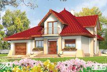 Proiect casa cu mansarda pe structura metalica