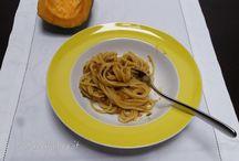 Ricette con la zucca / Ricette sfiziosa con la zucca come ingrediente principale. Tasteful recipes having pumpkin as the main ingredient.