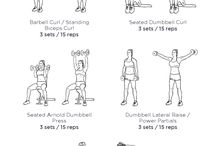 upper body workout at gym