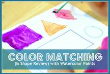 Preschool Basics:  Shapes & Colors