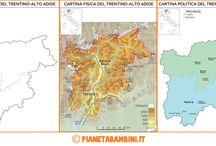 Cartina Muta Trentino