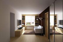 Квартира в Свиблово / Трансформация двушки в 12-этажной «хрущевке» в стильную двухкомнатную квартиру для холостяка.