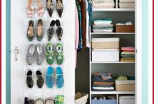 Organizing: Closets & Clothes