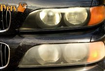Headlight Restoration / Multiple methods on how to restore those foggy/hazy headlights on your vehicle.