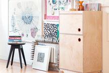 Krusbahr by Cajsa Fredlund / Cajsa Fredlund: Krusbahr är en idébaserad grupp där personer med olika kompetenser inom visuell identitet, design, kommunikation, webb, konst, inredning, renovering och finsnickeri designar och tar fram möbler.