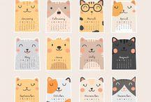 アニマルカレンダー