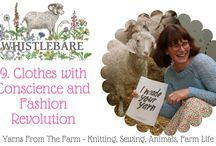 vlogs, blogs and podcasts / vlogs blogs and podcasts about knitting, sewing, crafts, farming, yarn and wool