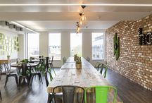 Houzz HQ, King's Cross / Office fit-out for stunning Houzz HQ in London.