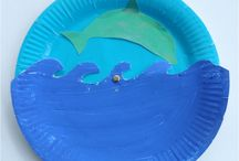 Preschool craft - Sea