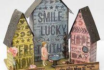Tim Holtz ~ Tiny Houses