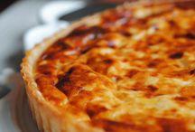Quichés, empanadas y pizzas
