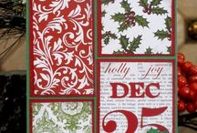 Christmas Crafts / Christmas, stamping, crafts, Stampin Up!