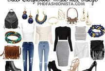 Blog Outfits and Style Boards / Blog outfits and Style Boards created by Andrea @ www.phdfashionista.com