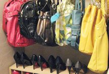 Purse and shoes organizer