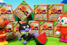 アンパンマン アニメ❤おもちゃ ワールドコレクションりんごぼうや全部開封!エピソード2Anpanman toys