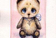 Акварельные иллюстрации и открытки  Инги Измайловой