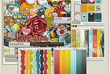 {Everyday Love} Digital Scrapbook Collection by Pixelily Designs