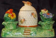 Bee Mine / Bumble bee art, ceramic, paintings, cloth sculpture, bee keeping