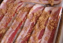 Bacon appetizers.
