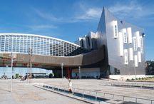 Modern Building Locations in Malaga