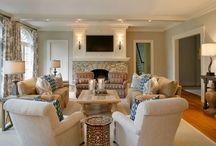 House - living room / by Jen Haygs
