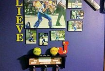 softball room decor