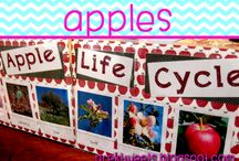 Apples / Ideas and resources for pre-k and kindergarten apple study.