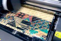 Bamboo Mat Printer