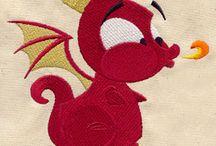 Smoki wzory haftu