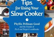 Slow cook meals