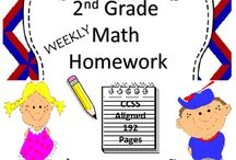 2nd Grade Math Homework 2nd Grade Spiral Math Review Worksheets / 2nd Grade Math Homework - 2nd Grade Spiral Math Review Worksheets. Are you searching for 2nd grade math homework for the entire year? Giving students this 2nd grade homework resource that involves drill and practice will reinforce the skills they've been taught in class.  This 2nd grade Math Homework includes: #1 - 192 pages of common core aligned math homework sheets  #2 - This resource covers the entire year of 2nd grade