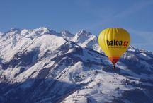 Let balonem v Alpách / Let balónem přes vrcholky rakouských Alp se zkušeným a profesionálním pilotem je jedním z nejúžasnějších dobrodružství, jaká člověk může zažít.