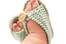 Sandálias crochê