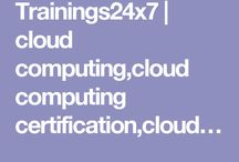 Cloud Computing Certification / EXIN Cloud Computing Foundation is a demanding certification required by many IT organizations all over the world. The Cloud Computing Elementary Professional Certification provides clearly and concisely the basis of cloud computing. http://trainings24x7.com/cloud-computing/
