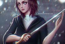 Arya Stark and Jaqen H'Ghar