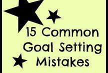 goals / by Charlene Knowles-Poschner