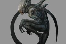 Theme: Alien
