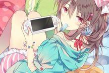 Anime gamer